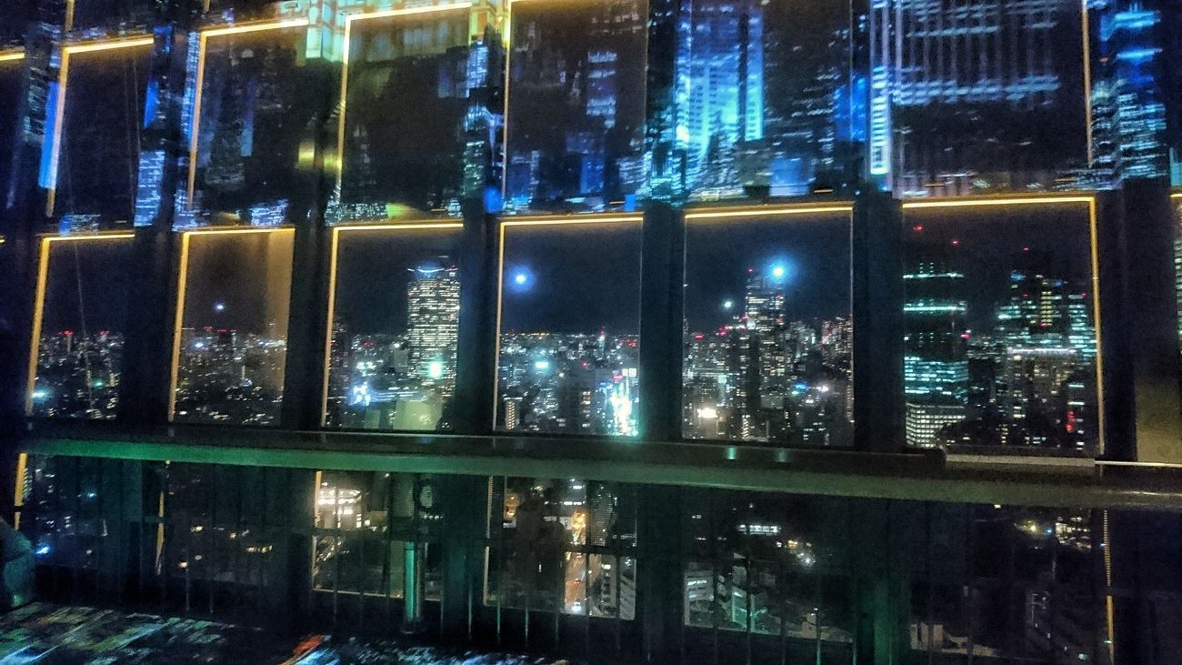 東京タワー展望台から View From The Window Tokyo Tower Observatory Night City From My Point Of View Night Photography Night Lights Buildings City Lights At Night Tokyo Night City View Light And Shadow Geometric Shapes Taking Photos January 2017