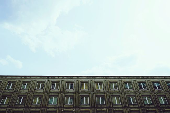 One Third Buildings Negative Space Rows Of Things Architecture
