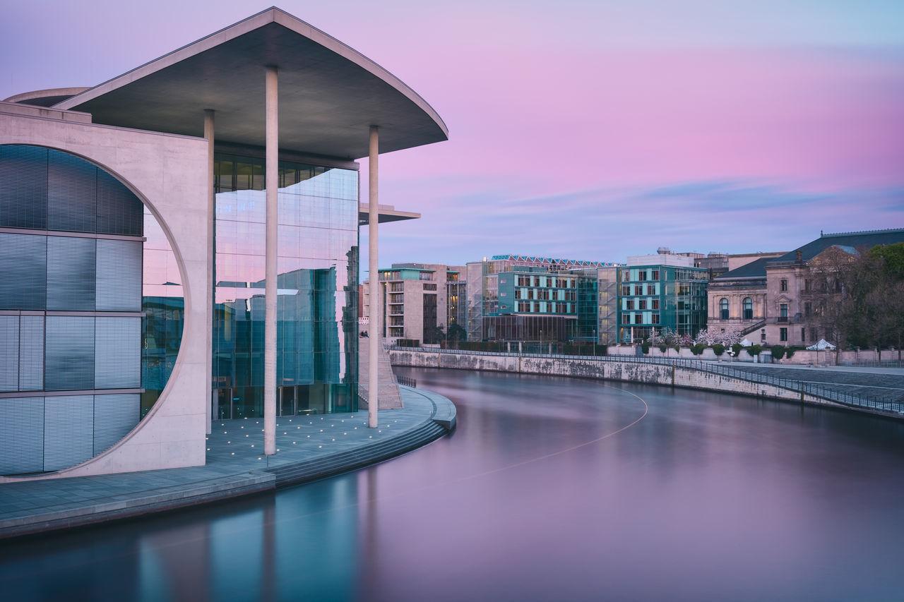 Beautiful stock photos of twilight,  Architectural Feature,  Architecture,  Beauty In Nature,  Berlin