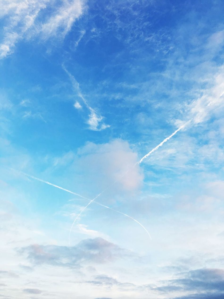 Sky Drawing Blue Sky Beauty In Nature Outdoors Tranquility White Nature Photography Scenics