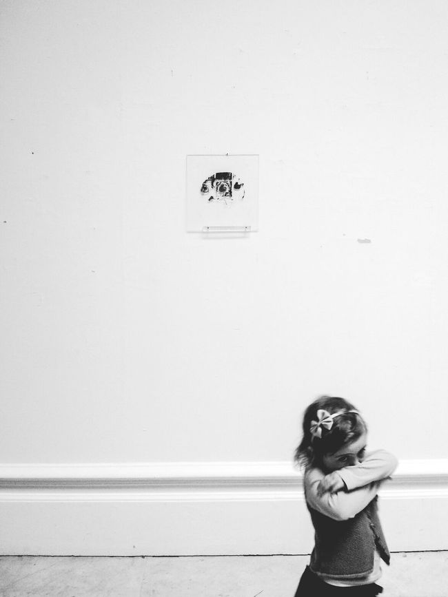 But she didn't like the Exhibition... Blackandwhite