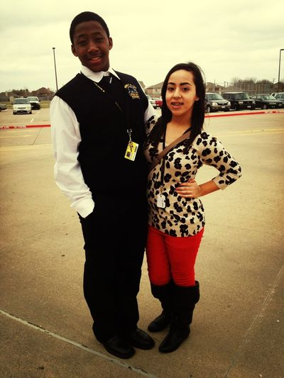 My Baby Looked Cute Today !!(: