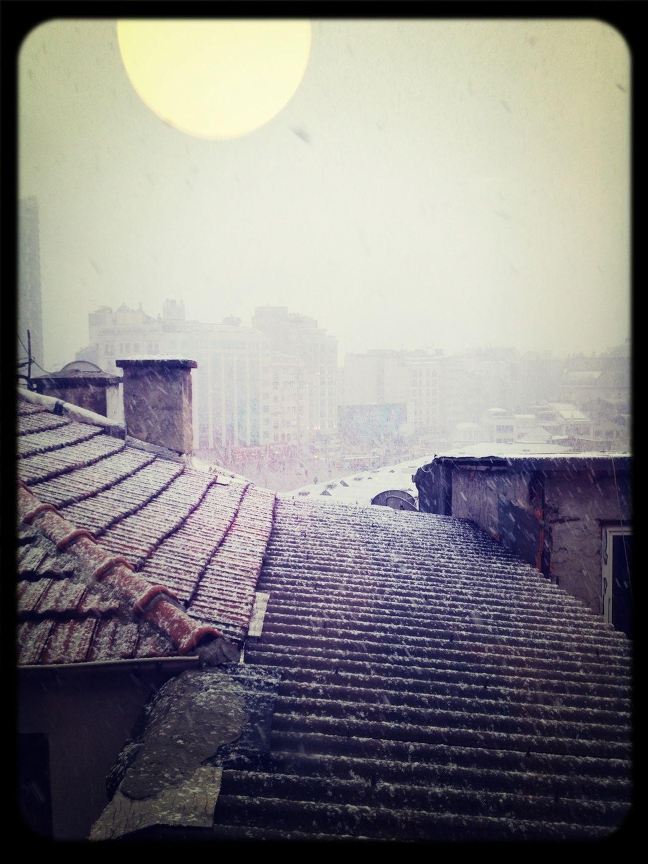 Winter Beyoğlu #snow #kar #Beyoglu