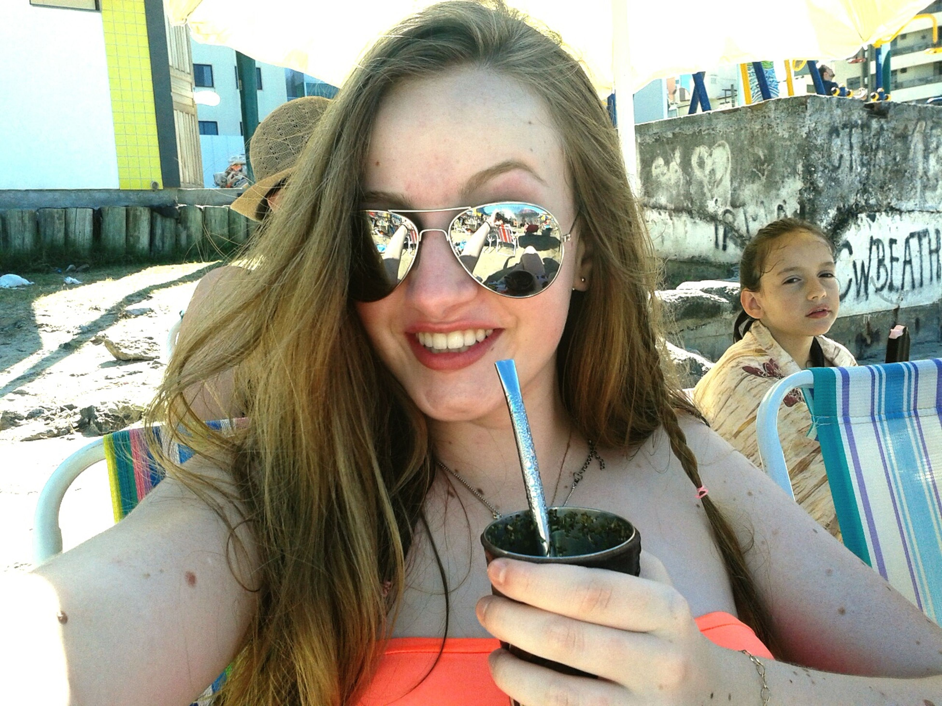 Loving my vacation 💘☀🏊🏻 Relaxing Taking Photos Copacabana Beach Riodejaneiro Brazil Vacation With Family Summertime At Brazil Nature Drinking Hi! That's Me Citylove