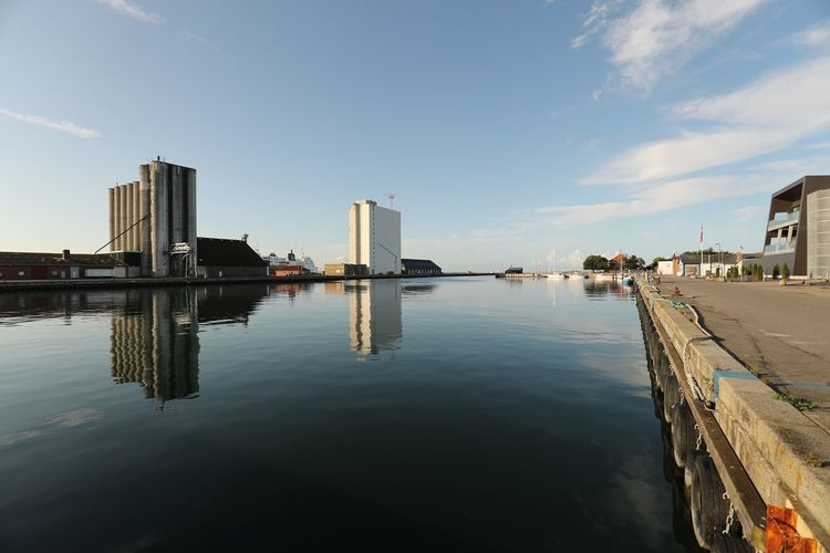 Water Architecture Reflection Built Structure Sky Building Exterior Waterfront Outdoors No People Sea Day Nature