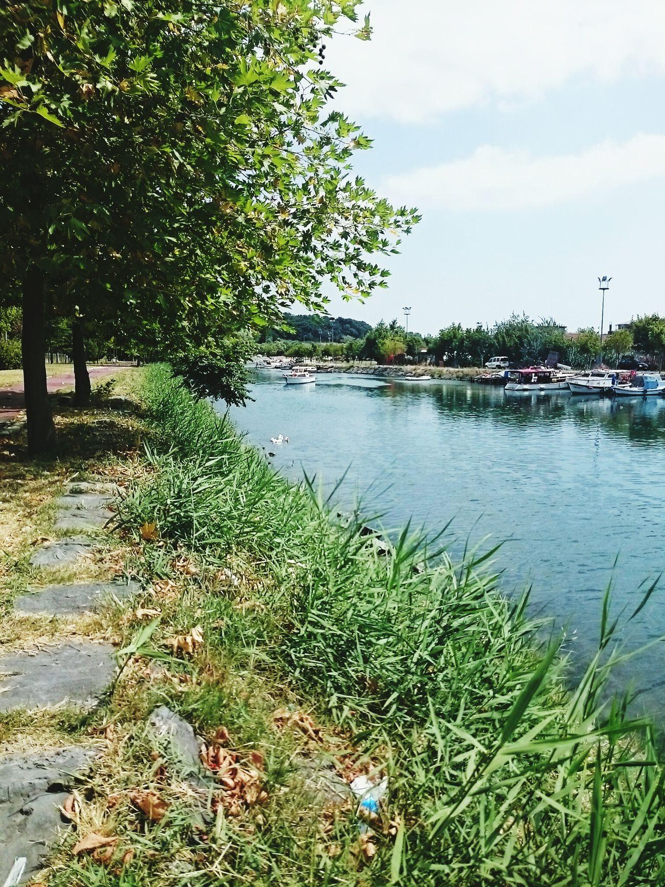 Gündüz paylaşmayı unutmuşum Küçükçekmece Göl Lakeside