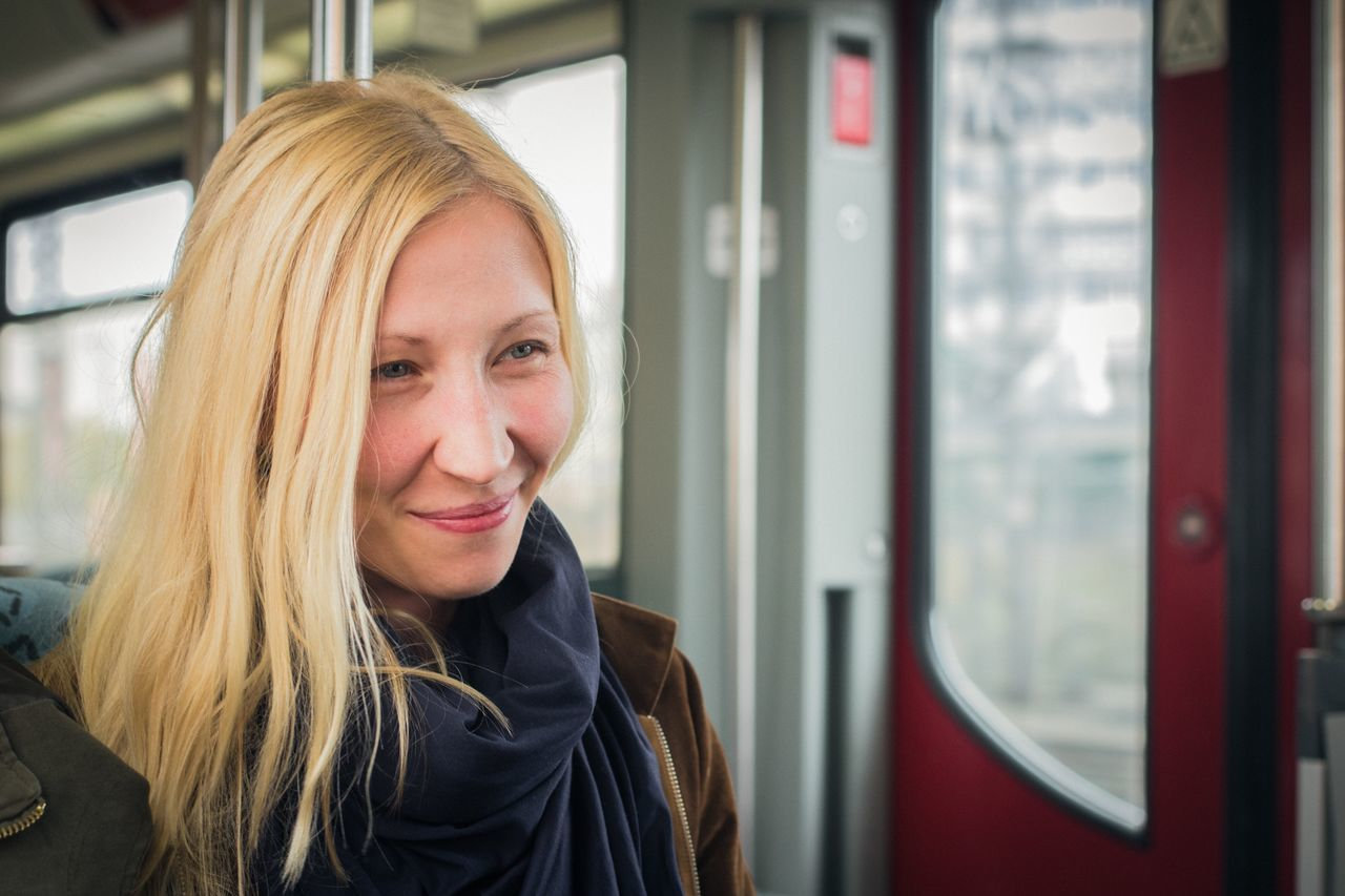 Beautiful stock photos of woman, 30-34 Years, Beautiful Woman, Berlin, Blond Hair
