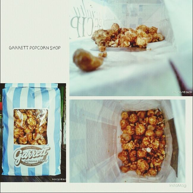 Food can make a person have energy to beautiful her life Food Garrett Popcorn Lover Photography