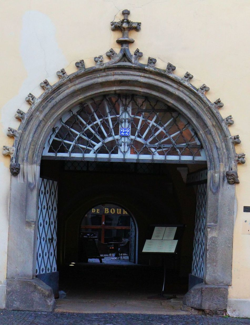Altstadt Architecture Bogen Built Structure Denkmal Door Durchblick Entrance No People Offen Open Portal Sachsen Schlesien Tür Türbogen