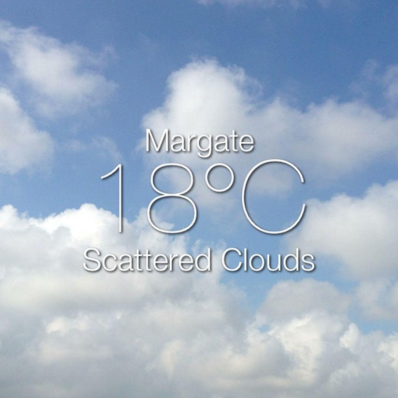 Weather Instaweather Instaweatherpro Sky outdoors nature world margate unitedkingdom day summer gb