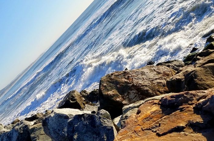 Water Backgrounds Nature Fine Art Photography Pattern Texture Shape Design Beauty In Nature Beach Sea Nature Sky No People Close-up Sand Outdoors Day Wave Check This Out Coastline Meditation Horizon Over Water Tranquility Interesting Perspective  Rocks Angle Bestlandscapes