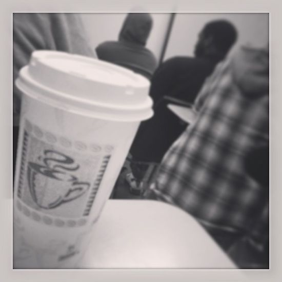 Coffee and watching the movie 21&over during class is great. Firstclass 1130 Lifechoices