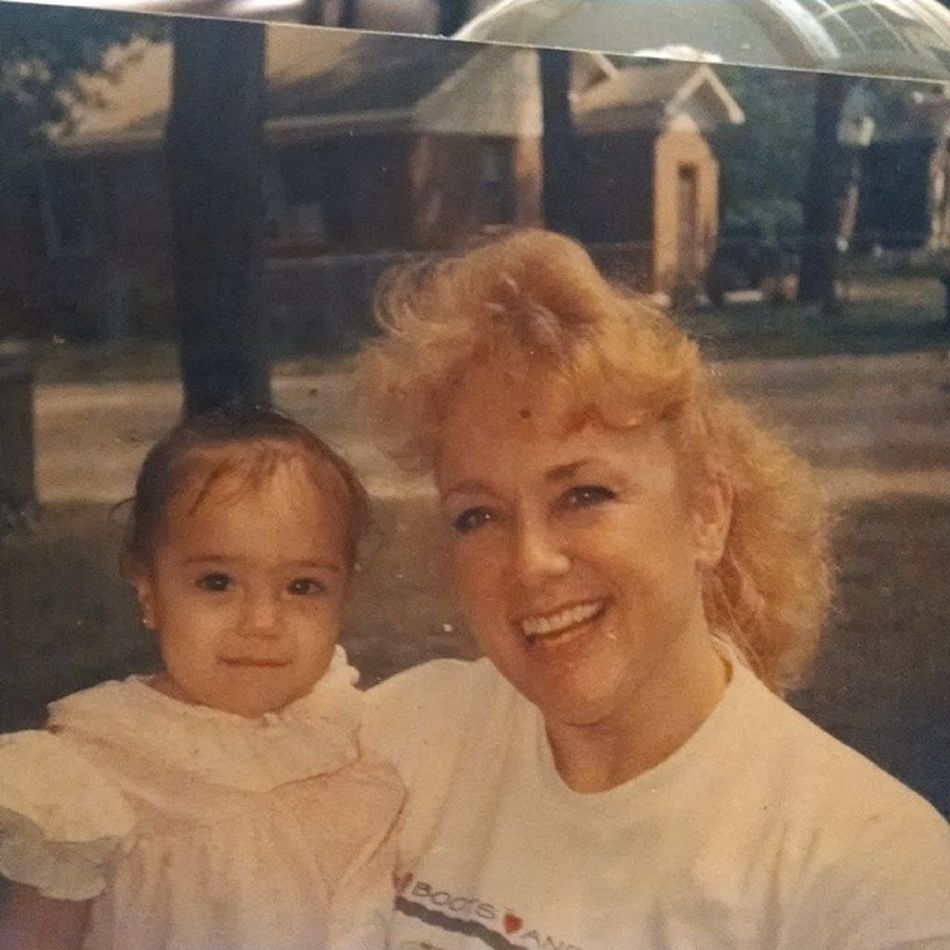 Mommy and me Flashbacksunday Lovethislady Latenightfind