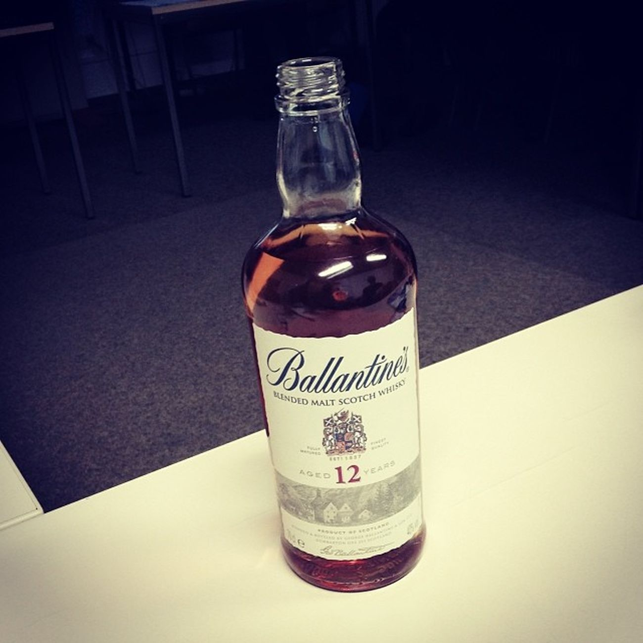 4. Ballantines 12 years... #whiskyVHS Whiskyvhs