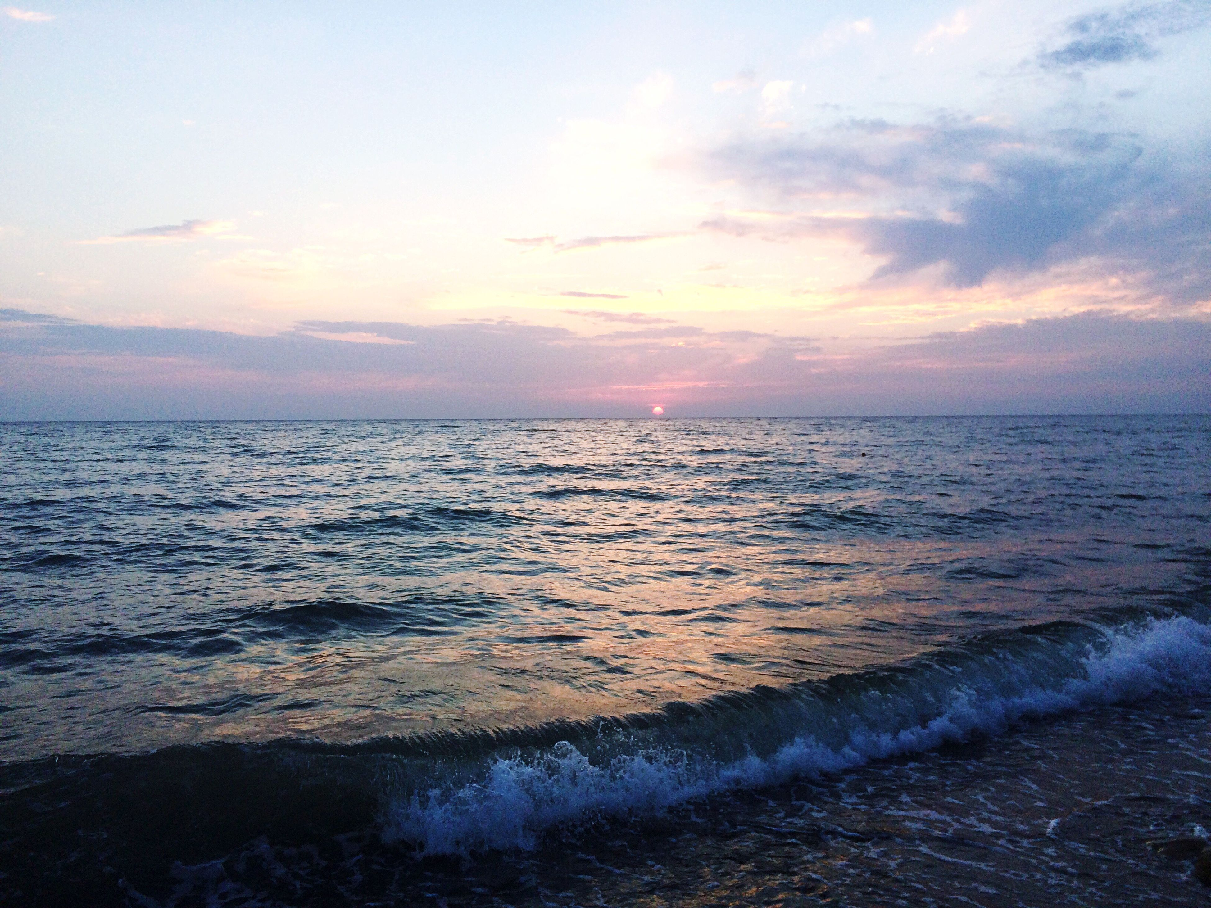 sunset, sea, reflection, beach, sky, nature, horizon over water, water, beauty in nature, outdoors, scenics, dramatic sky, no people, sand, day