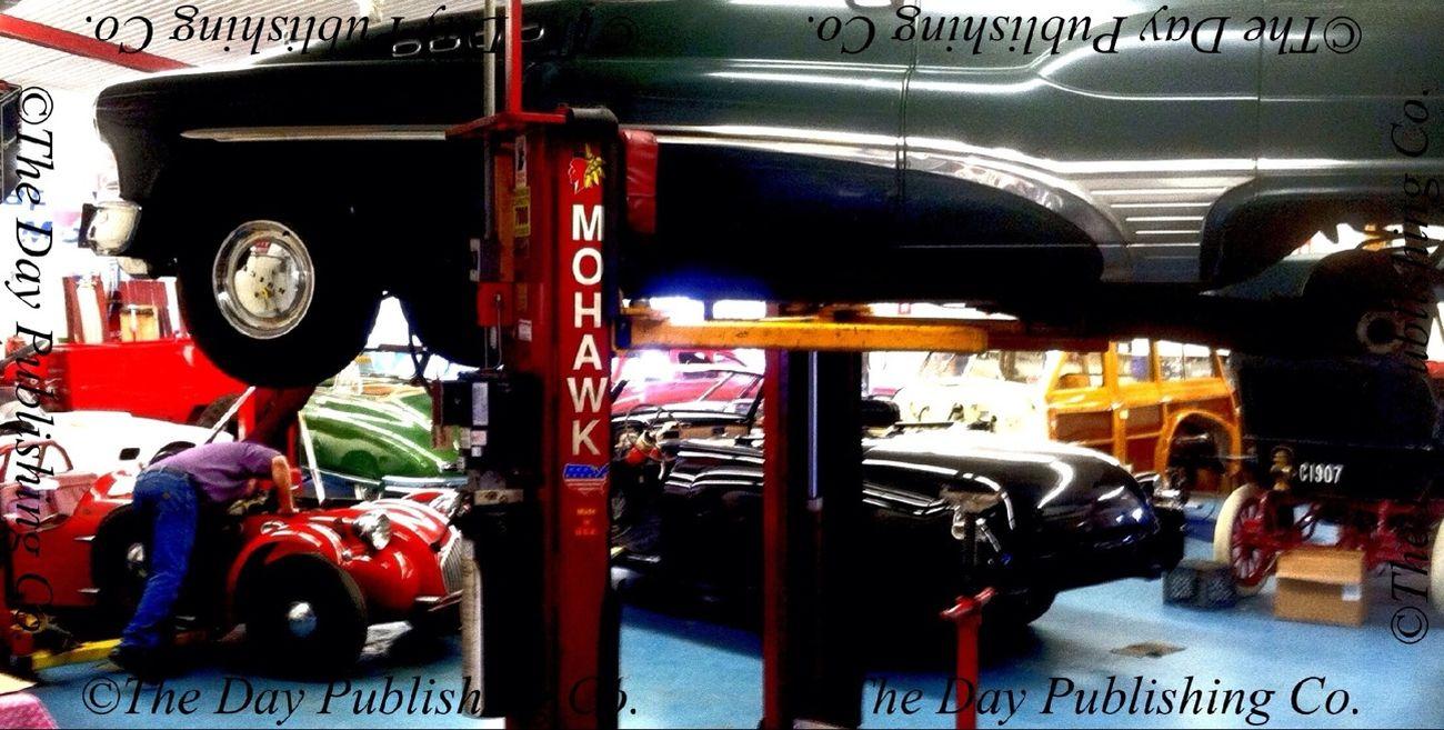 Restoring 1953 Allard J2X. Vintage Motorcars.