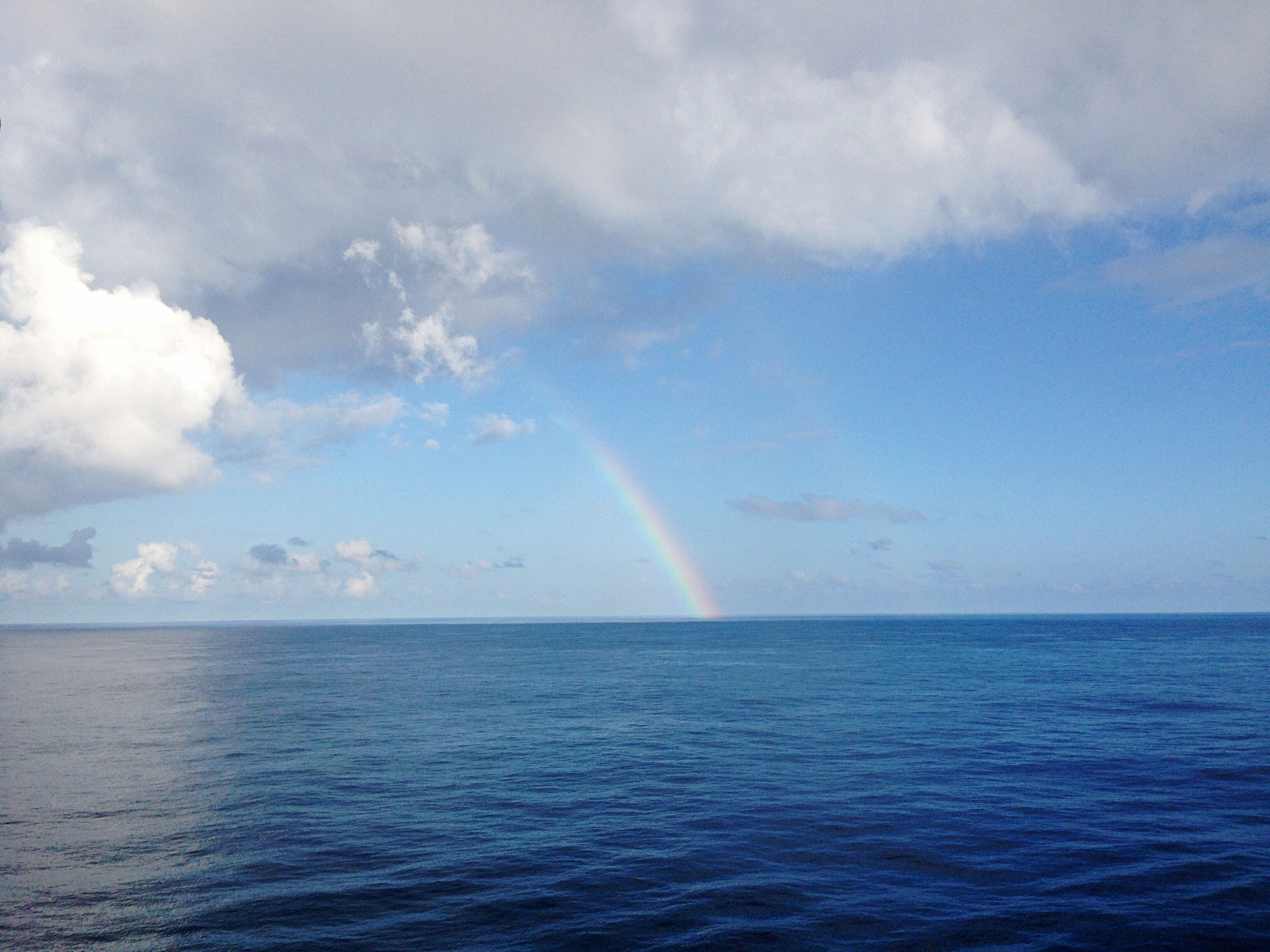 All colors in one place, in the center of Indian ocean