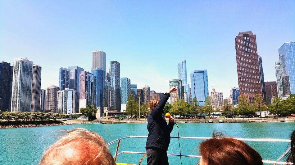 Beautiful stock photos of chicago skyline, , City, Cloud, Cruise Ship