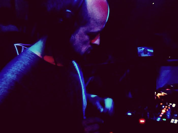 💙 Matthew Herbert at Heist & Soundmachine ADE 2016 - Clubbing Electronic Music Herbert Cult HERO One Person Adults Only People Adult Young Adult Indoors  Men Human Body Part Neon Casino One Man Only Human Hand Only Men Dance Turntable