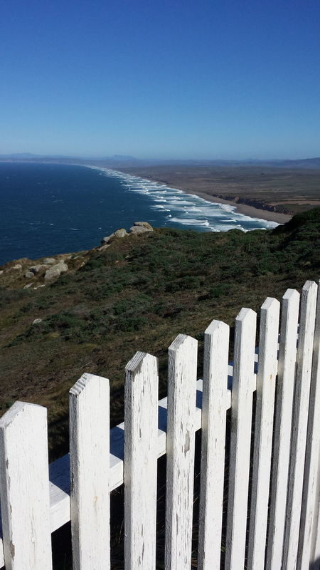 A walk to the lighthouse Lighthouse Fenceline Outdoors Landscape Beach Sea Sand Nature Pacific Coast Landscape_Collection Northern California Boats And Water