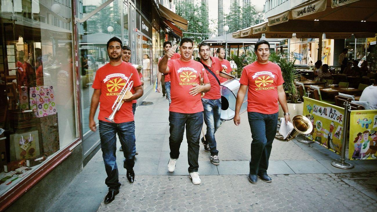 RAIM • Macedonian brass band Nikon 1 V1 Streetphotography