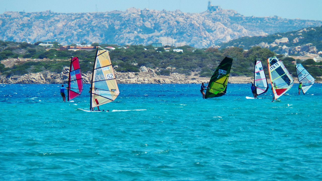 Adventure Club Showcase:July Vele Blue Sea And Blue Sky Blue Sea Summer_collection Nature Sea Summer Summer2016 Summertime Summer Views Blu Tourquise Sea Sport Time Regatta Regata Sardegna Sardinia Santateresagallura ❤ Colour Of Life The Color Of Sport