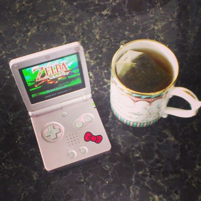 I'm finished with Catherine, for now. I plan on replaying for an alternate storyline. Until then, I will continue on with #thelegendofzelda #theminishcap. Hyrule Nintendolife Tea Gameboyadvance Nintendo Wtfgo Truth Theminishcap Link Gameboyadvancesp Zelda Ninstagram Gamer Tloz Videogames Teadrinker Igersnintendo Pinkgameboy LegendOfZelda  Notcibsunday Herbaltea Rcgameboyweek Thelegendofzelda Hylian Wtfgamersonly Teasnob Loz Gingertea Minishcap