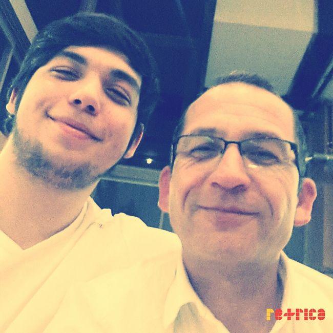 babalar günün de Babamla selfie yapmasam olmazdi :))