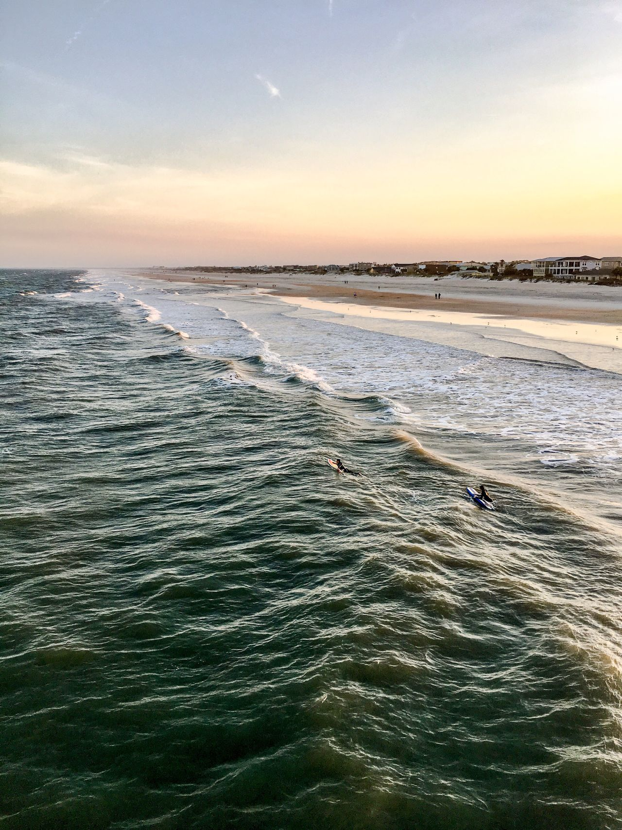 Sea Water Nature Scenics Sky Horizon Over Water Beach Leisure Activity Lifestyles Outdoors Real People Wave Day Surfing