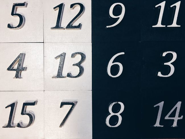 TakeoverContrast Colors And Patterns Numbers Digits Counting Counting Money Counting Numbers Blackandwhite Black & White