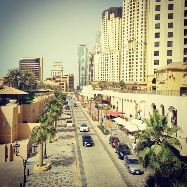 The place to spot the best cars Dubai has to offer. The Walk!