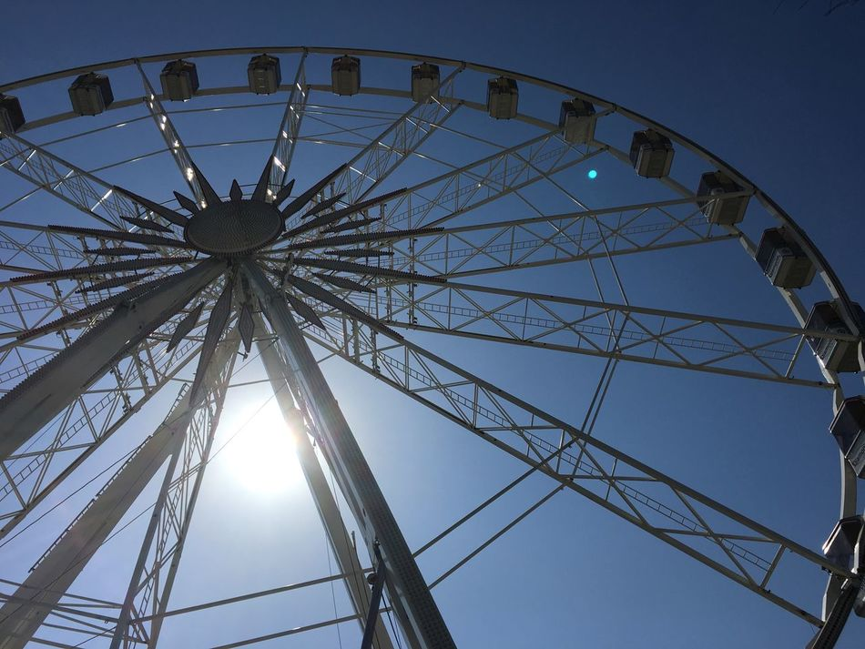 Amusement Park Clear Sky No People Outdoors Big Wheel Italy Blue Sky Summer Adriatic Coast