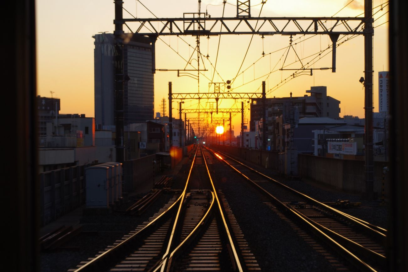 Sunset Railroad Track 阪急電車