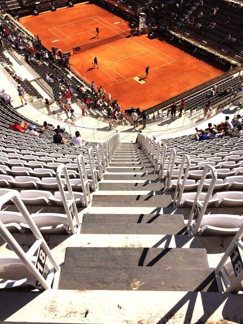 Internazionali Bnl Rome Italy Centrale Tenniscourt I Love This Sport  Sun and Fun Atp Tour