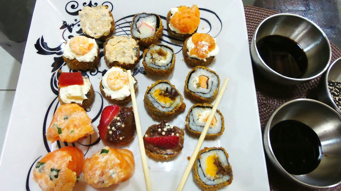 What's For Dinner? Hello World Relaxing Food Sushi Time SushiCute Sushilover