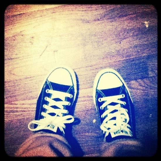 Converse all day everyday 24/7✌