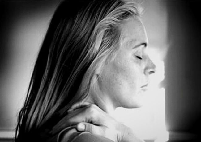 """""""Time heals all wounds. But not this one. Not yet."""" Marie Lu Taking Photos Portrait B&W Portrait Monochrome Light And Shadow Healing HEAL Grief Darkness And Light Light And Shadows Healing Massage Therapy Massage Oil Shoulders Pain Shoulder Blade"""