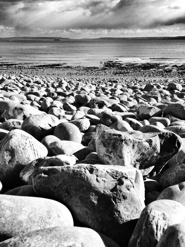 Almost broke my foot walking across this pebbly beach today..but was well worth the struggle..such a beautiful place