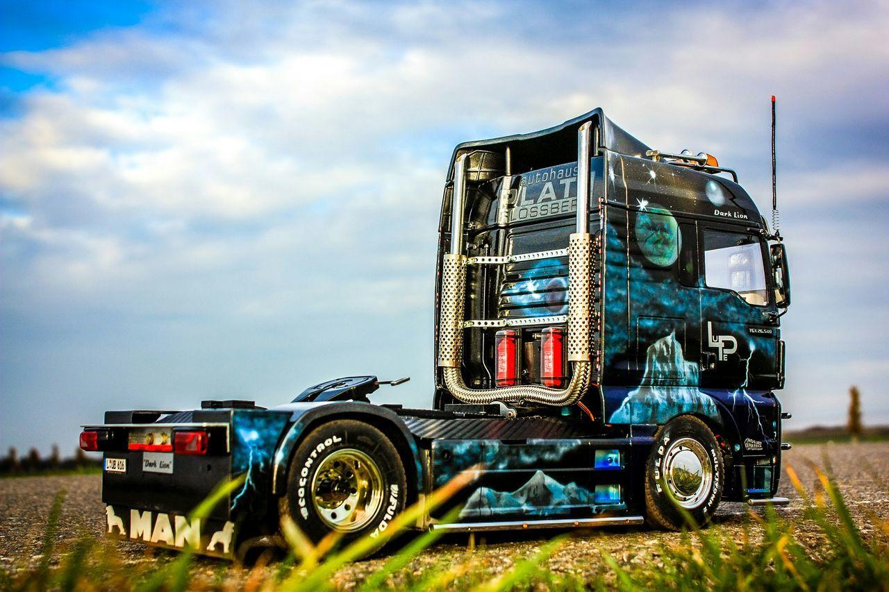Modellbau  Man Truck Tamiya Airbrush Radio Controlled