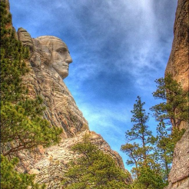 HDR of our first President HDR Rock Washington GCS President Earlybird Igers MT Jj  Jj_forum The_guild Primeshots Igla _wg Igerssdakota Sky Jj_forum_0370