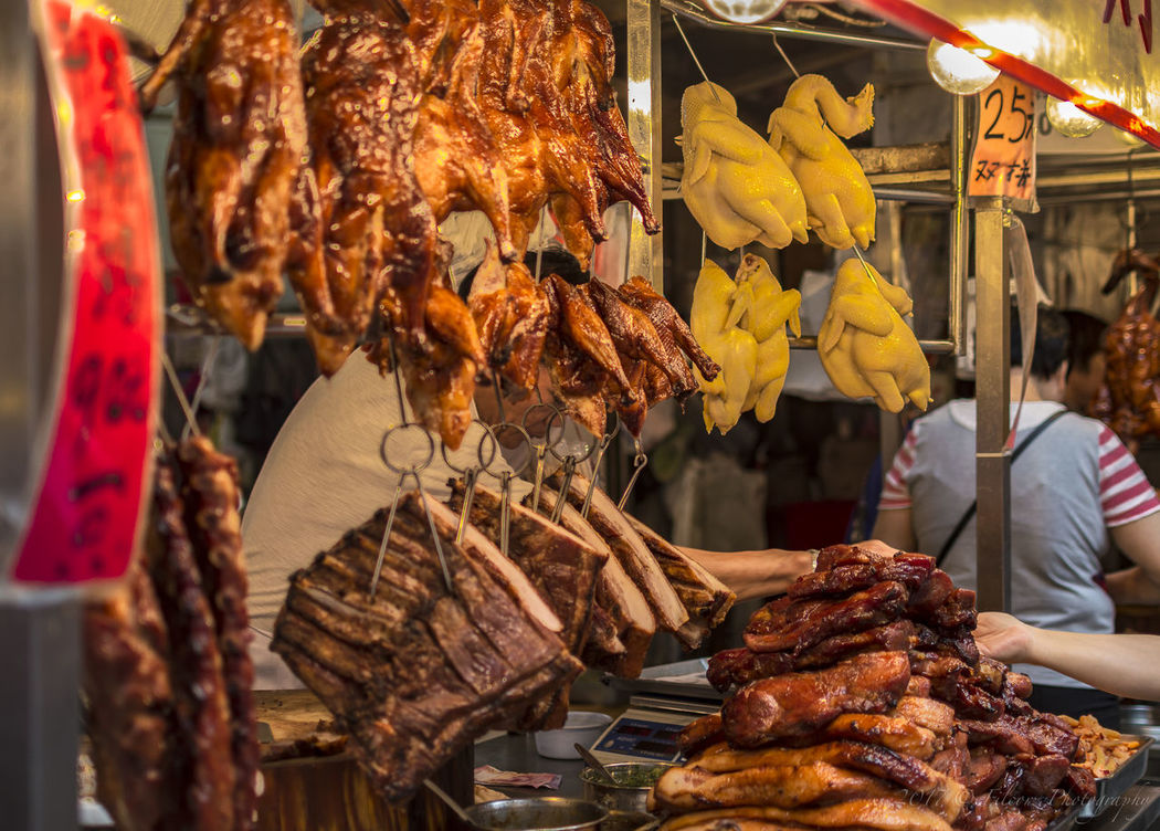 Street Food Cantonese Style Cha Siu Chinese Culture Chinese Food Day Meal Pig Siu Yo Spare Ribs Street Food Sucklingpig The Street Photographer - 2017 EyeEm Awards