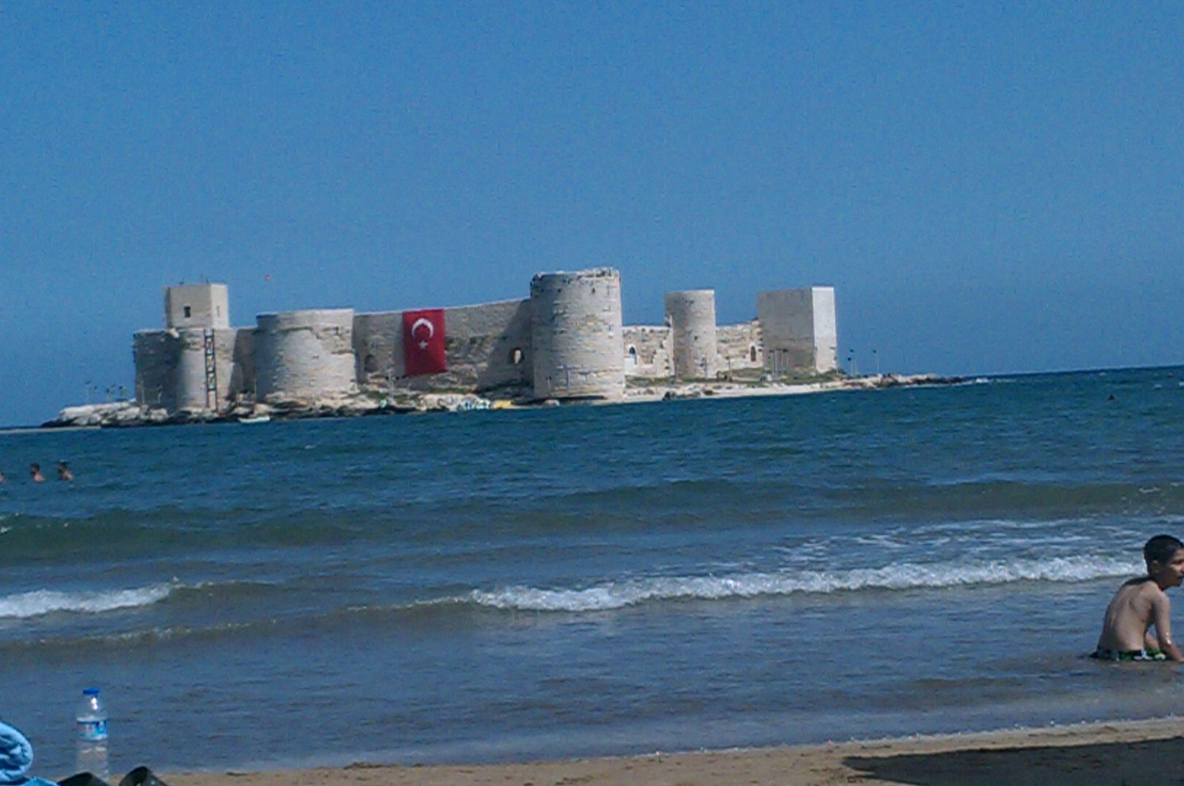 castle of girl at silifke
