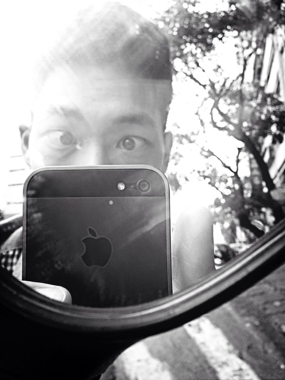 Nothing to do lol IPhone5 Cafe Latte Selfie ✌