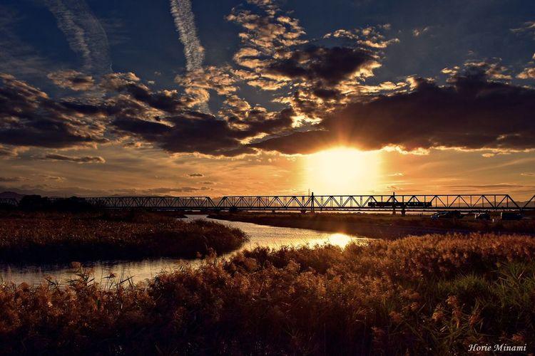 Sunset Sky Japan EyeEm Best Shots EyeEmNewHere EyeEm Team The Week On EyeEm Landscape 徳島県 高徳線