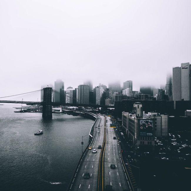 New York NYC NYC Photography Streetphotography Way2ill Illgrammers Eyewitness Transportation Architecture Bridge - Man Made Structure Cityscape Leicacamera Public Transport