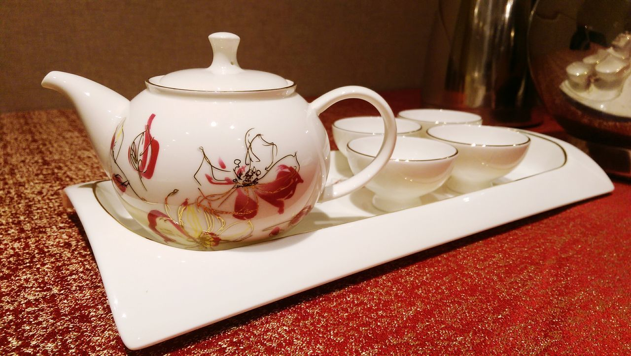Teapot Chinese Style Tea Ceremony Wedding Day Heritage