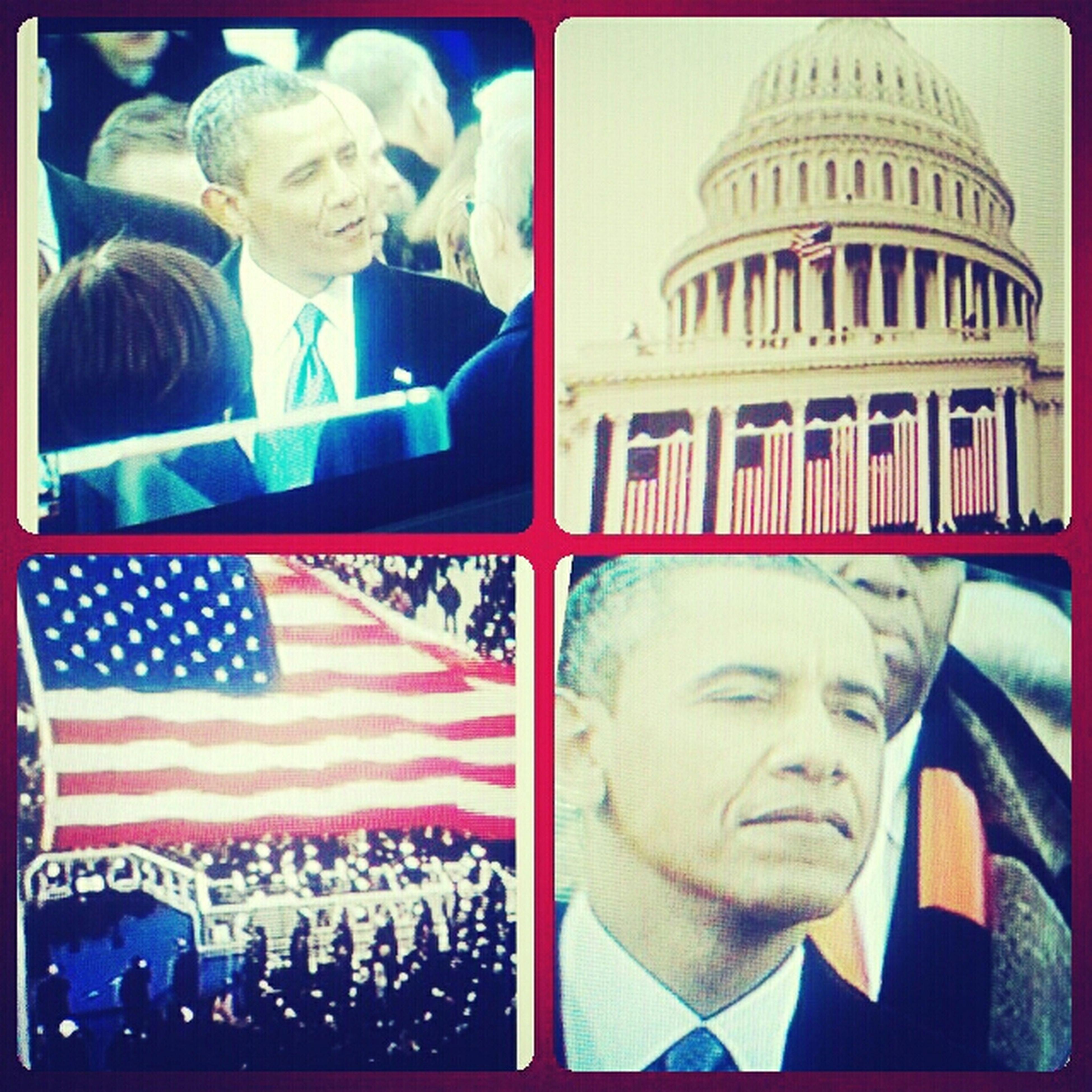 My 44th President..*Barack Obama**Inauguration 2013*