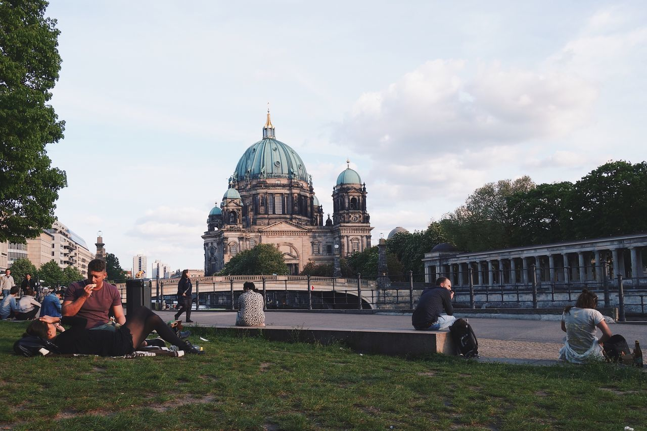 Architecture Dome Built Structure Building Exterior Sky History Tourism Outdoors Travel Destinations Berlin
