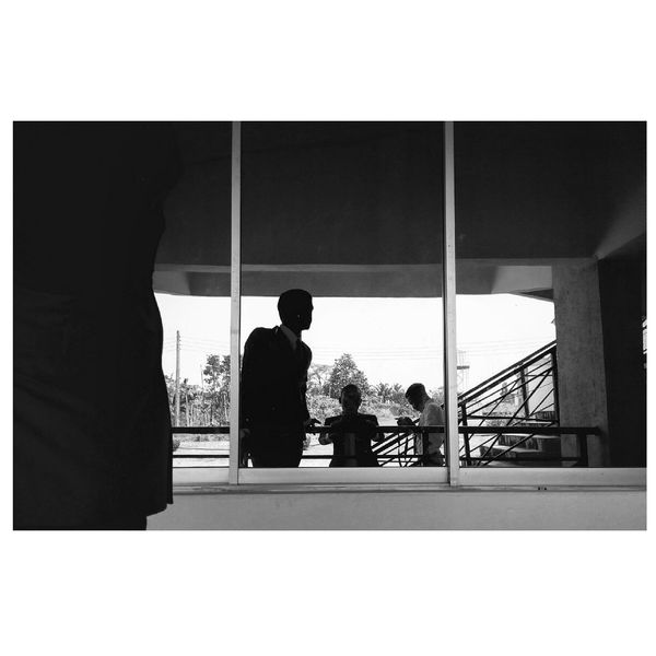 Inside the window of my soul. Silhouette Only Men Adults Only Men Window Adult Standing People Senior Men Day Blackandwhite Exploring Black & White Black&white EyeEm Best Shots EyeEm Gallery Eyem Gallery EyeEm Best Shots - Black + White Built Structure Outdoors Eyeemphotography Eyeeminstagram Architecture Silhouette Real People