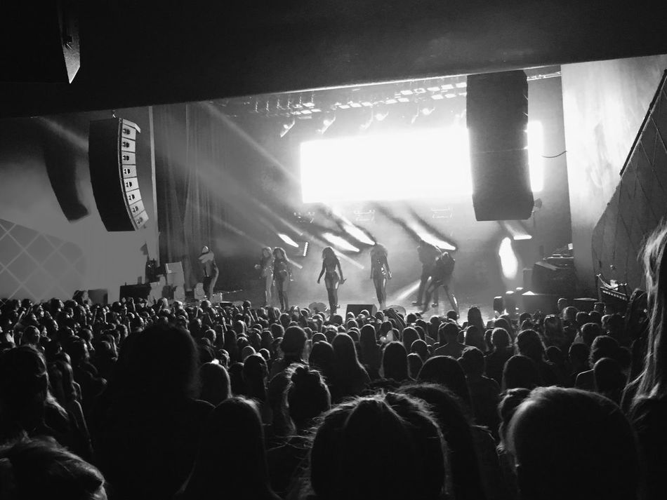 Concerts Little Mix  Oslo Norway People Watching Blackandwhite